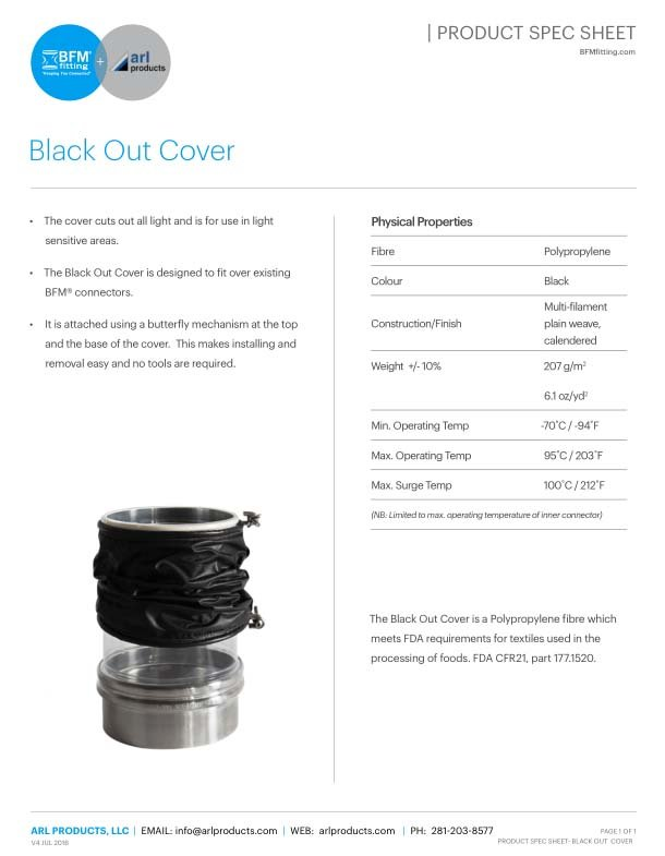 Blackout Spec Sheet