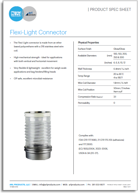 Flexi-Light Spec Sheet