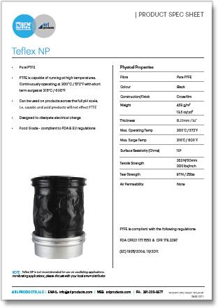 BFM Teflex Spec Sheet